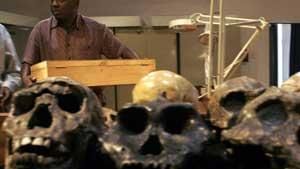 National Museums of Kenya's Frederick Kyalo Manthi. (AFP)