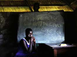 As a result of decades of civil war, many adults and children in South Sudan did not go to school. Government statistics for 2011 show that only 39 percent of primary school students and 30 percent of secondary students are female. Credit: John Robinson/IPS