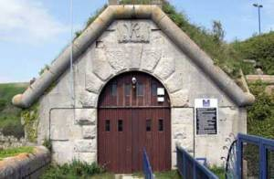 The entrance to Verne Prison in Dorset.  Jim Linwood under a [  ]Creative Commons Licence
