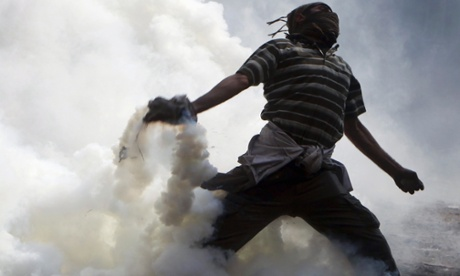 Will our age of climate change also be an era of civil and international conflict? Photograph: Amr Abdallah Dalsh / Reuters