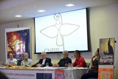 The Indigenous Missionary Council releases at CNBB, the headquarters of the National Conference of Bishops of Brazil, the report entitled Violence Against Indigenous Peoples in Brazil in 2013Elza Fiúza/Agência Brasil
