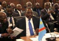 Democratic Republic of Congo's President Joseph Kabila attends a two-day meeting of leaders from the Southern African Development Community (SADC) in Pretoria November 4, 2013.