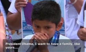 Andrés on MSNBC petitioning President Obama. Photograph: Screengrab/MSNBC