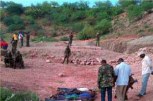 The scene at the Mandera quarry [The Kenya Star]