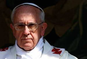 A coalition of liberal Catholic groups in Italy have started an online petition in support of the pope after a leading Italian journalist wrote a critique of his papacy. (AP Photo)