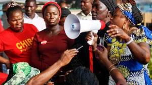 Protests against Boko Haram. (Reuters)