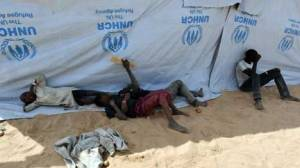 Nigerian refugee children in a refugee camp in Baga Sola by Lake Chad January 26, 2015 Millions of children have been displaced in Nigeria, many separated from their parents