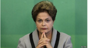 Polls show President Dilma Rousseff's government's popularity has been cut by half since her re-election in October