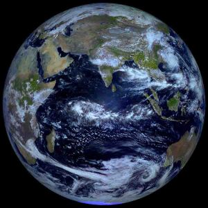 The Blue Marble -- taken during Apollo 17 lunar mission 1972. (Google Image/unknown)