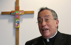 Honduran Cardinal Oscar Rodríguez Maradiaga, president of Caritas Internationalis. (Bob Roller/CNS)
