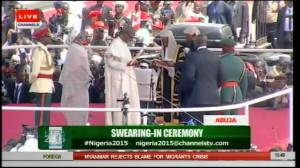 Swearing-in Ceremony Nigeria 2015