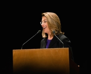 "Author and activist Naomi Klein spoke at the Vatican on Wednesday, calling climate change a ""moral crisis"" that should unite all people. (Photo: Adolfo Lujan/flickr/cc)"