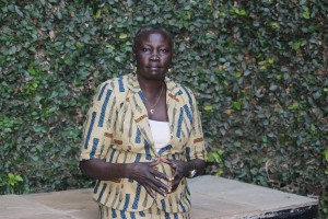 Dina Disan Olweny, Executive Director of the non-governmental Coalition of State Women and Youth Organisation, is one of the rights activists pushing for an end to harmful traditions and injustices facing young girls in South Sudan. Credit:  Miriam Gathigah/IPS