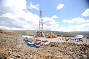 A geothermal drilling rig at the Menengai site in Kenya's Rift Valley to exploit energy which is more sustainable than that produced from fossil fuels. A Climate Change Bill now before the Kenyan parliament seeks to provide the legal and institutional framework for mitigation and adaption to the effects of climate change. Credit: Isaiah Esipisu/IPS