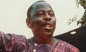 Ken Saro-Wiwa in 1993. (Photo: Greenpeace)