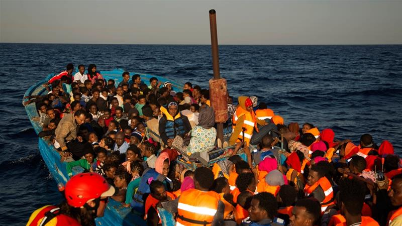 Refugees from the Horn of Africa