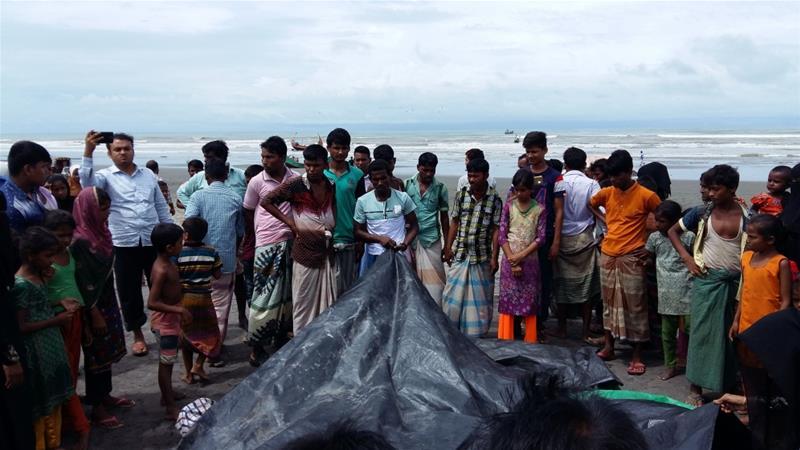 Rohinga at River Naf