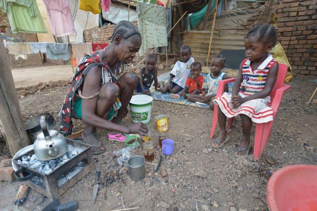 Displaced find refuge in South Sudan Church