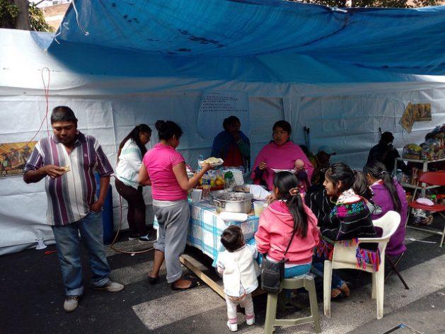 Mexico City Nahnu indigenous families Earthquake