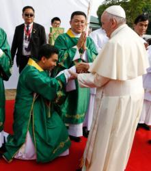PAPAL VISIT MYANMAR BANGLADESH