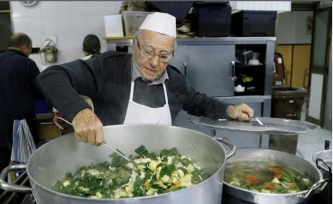 Screenshot_2020-02-11 Ninety-year-old chef of the poor cooks it up for Rome's homeless